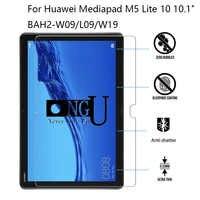 """Gehärtetem Glas Für Huawei Mediapad M5 Lite 10 10,1 """"BAH2-W09/L09/W19 Tablet Screen Protector 9 H schutz Film Schutz Für M5 10"""