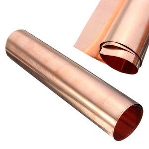 Image 3 - 1pc 99.9% טהור נחושת Cu גיליון דק מתכת רדיד רול 0.1mm * 100mm * 100mm