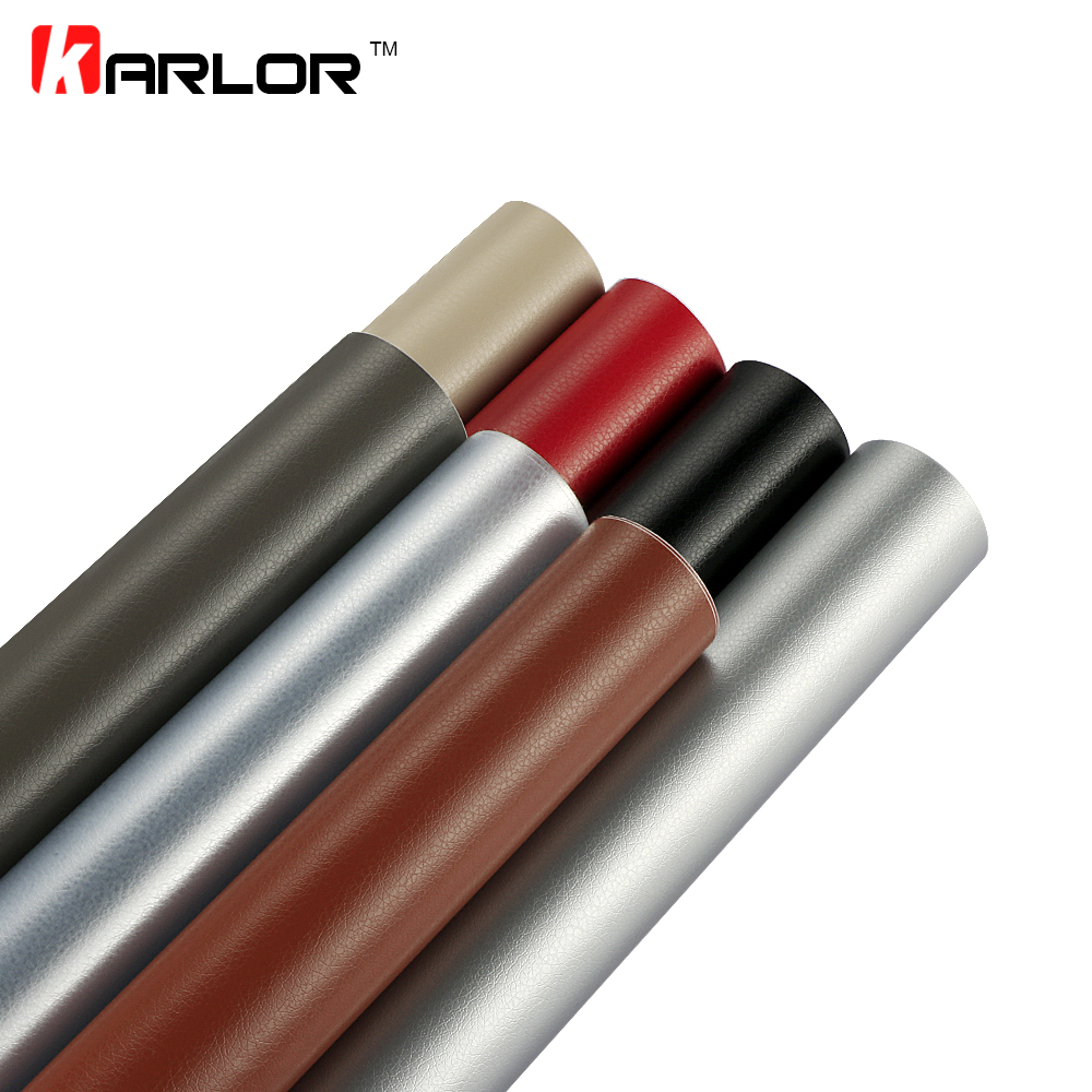 50*200cm Leather Pattern PVC Adhesive Vinyl Wrap Car Film Sticker Auto Body Internal Decoration Leather Film Decal Car-Styling 50 152cm leather pattern adhesive pvc vinyl film sticker auto car internal external decoration vinyl wrap decal car styling
