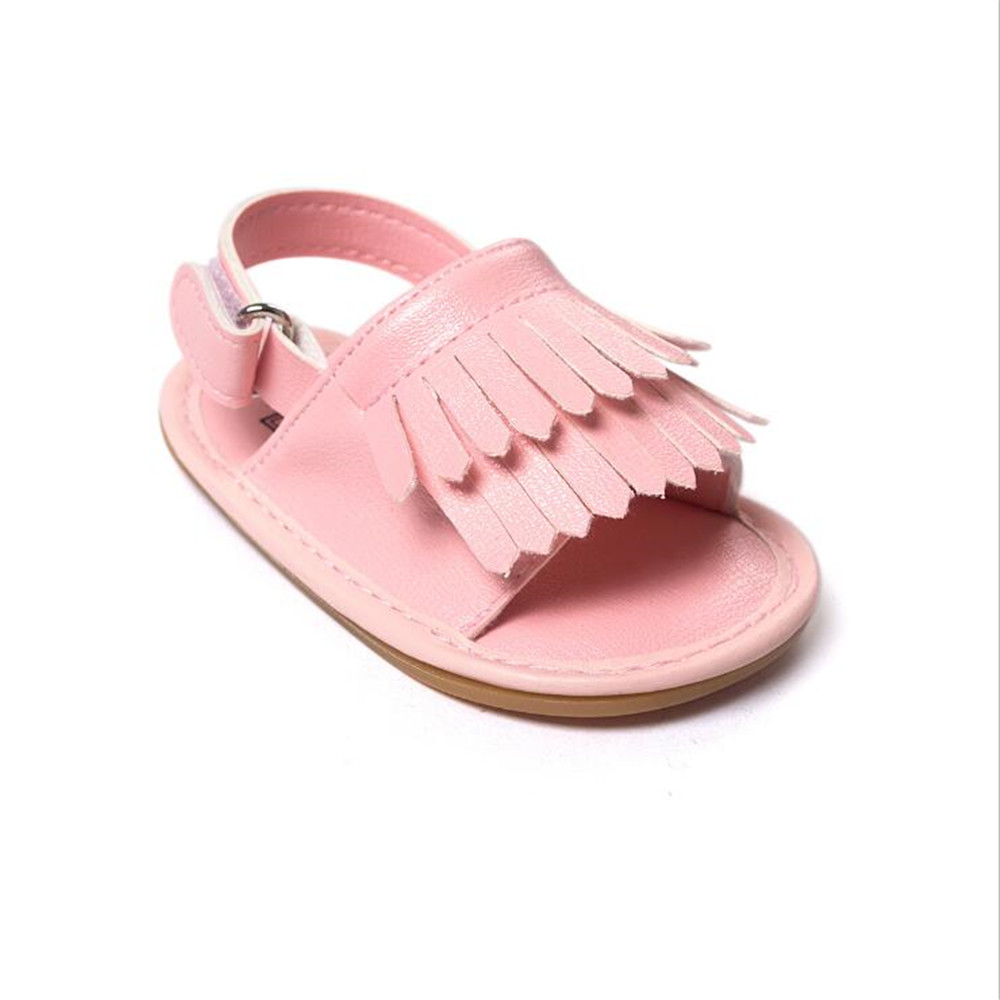 Clearance Newborn First Walkers Pu leather Summer Baby girls Boys Shoes Tassel Shoes Inf ...