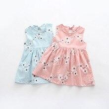 2018 Summer Toddler Girls Dress Casual Clothing Cherry Print Princess B