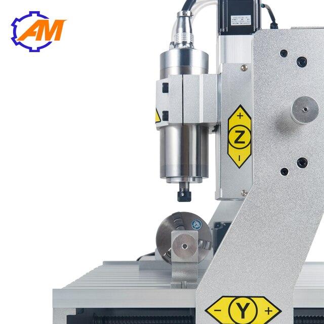 Nouveau produit table CNC fraiseuse 4 axes CNC routeur 3040 pour métal aluminium PCB - 2