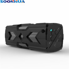 SOONHUA Wireless Bluetooth Speaker Waterproof Shockproof NFC Music Player Handsfree Call Power Bank 3D Stereo Loudspeaker Box