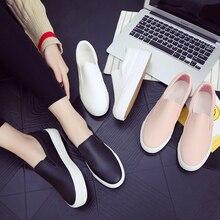Новинка 2017 года модные брендовые женские лоферы с принтом в виде героев мультиков обувь на низкой подошве женская повседневная обувь без шнуровки на платформе женская удобная обувь размеры 35-40