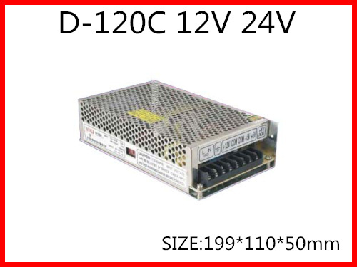120W Dual Output Switching power supply Output Voltage 12V 24V  AC-DC  D-120C минипечь gefest пгэ 120 пгэ 120