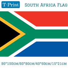 90*150cm/60*90cm/40*60cm/15*21cm South Africa Flag Banner Hanging National For World Cup Day Olympic Games