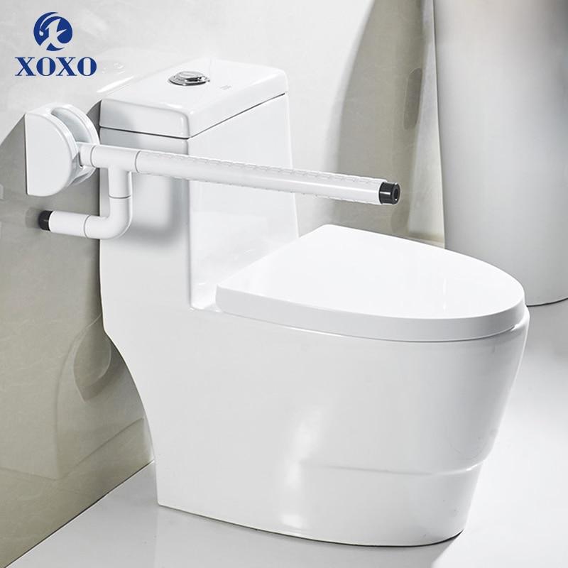 XOXO Toilet Safety Rails Grab Bars Barrier-free Handrail The Elderly Handicapped Handrail Toilet Toilet Folding Handrail FS03