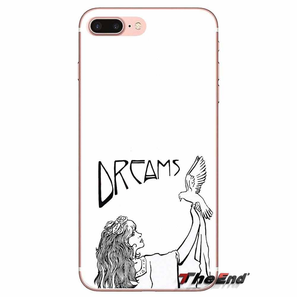 Transparent coque souple Fleetwood Mac Voyage Dragon Age Pour Samsung Galaxy S3 S4 S5 Mini S6 S7 Bord S8 S9 S10 Plus Note 3 4 5 8 9