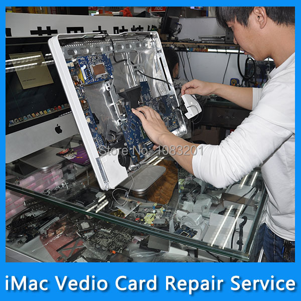 Repair Service for 661-5315 iMac 27 A1312 Vedio Card ATI Radeon HD 4850 512MB VGA Card Graphic Card MB952 MB953 Late 2009 free shipping new hd6850 2gb gddr5 256bit game card hdmi vga dvi port 6850 2gb original graphic card ati radeon for desktop
