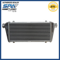 FMIC ALUMINUM TURBO INTERCOOLER 460mm x 226mm x 52mm 2.25 INLET/OUTLET Tube and Fin front mount