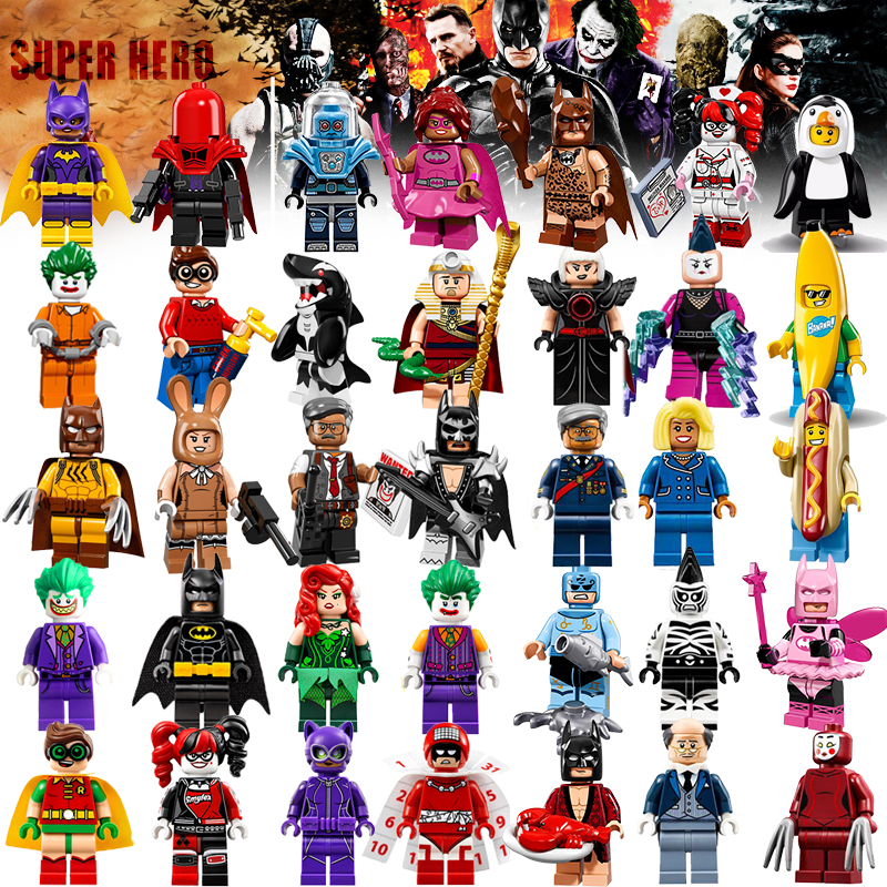 Building Batman 2017 Batman Movie Super Heroes Joker ...