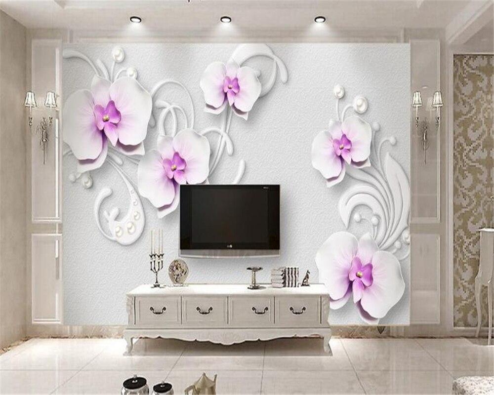 Beibehang Kustom Wallpaper Ruang Tamu Kamar Tidur Mural