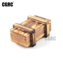 RC Rock Crawler 1:10 Decor Accessories Wooden Box for Axial SCX10 Tamiya CC01 Traxxas TRX-4  RC4WD D90 D110 RC Car Truck