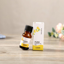 Best Deal New Good Quality Lemon Flavor 10ml 100% Pure & Natural Essential Oils Aromatherapy Scent Skin Care 1PC(China)