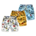 Brand Cartoon Boys Shorts 100% Cotton Printed Car Summer Shorts For Boys 2-8 Years Kids Beach Shorts Children Fashion Clothes