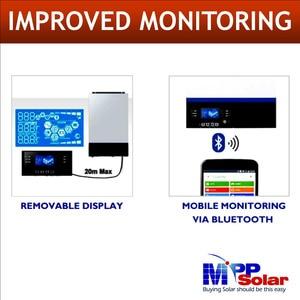 Image 4 - (GK) 3000w 24v 230vac גבוהה PV קלט 500vdc + 80A MPPT שמש מטען + סוללה מטען 60A + genset starter