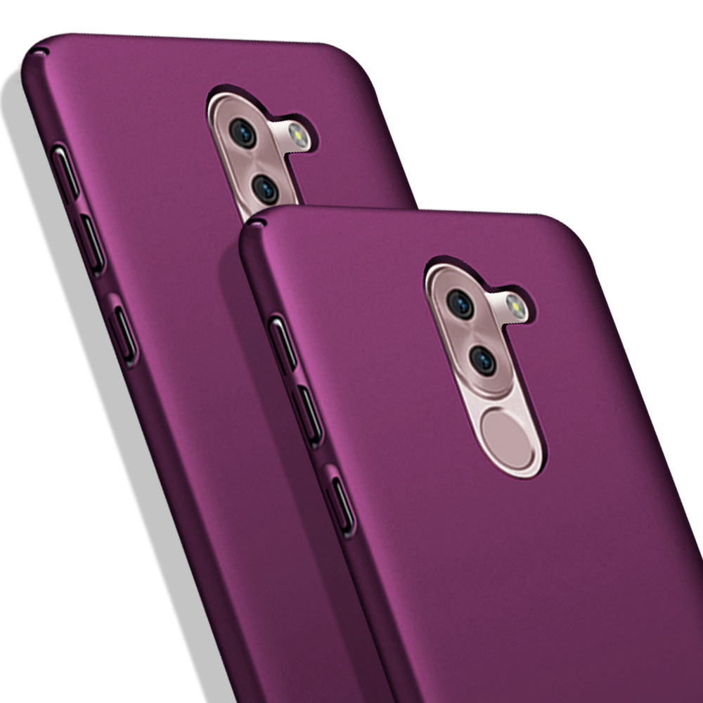 For Huawei <font><b>Honor</b></font> 6X <font><b>Case</b></font> <font><b>Hard</b></font> PC Plastic Slim Matte Cover For Huawei GR5 2017 / Mate <font><b>9</b></font> <font><b>Lite</b></font> Phone <font><b>Cases</b></font> Luxury Frosted Fundas image