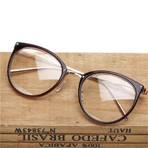 df3cffa25db XojoX Eyeglasses Men Women Optical Cat Eye Glasses Frames