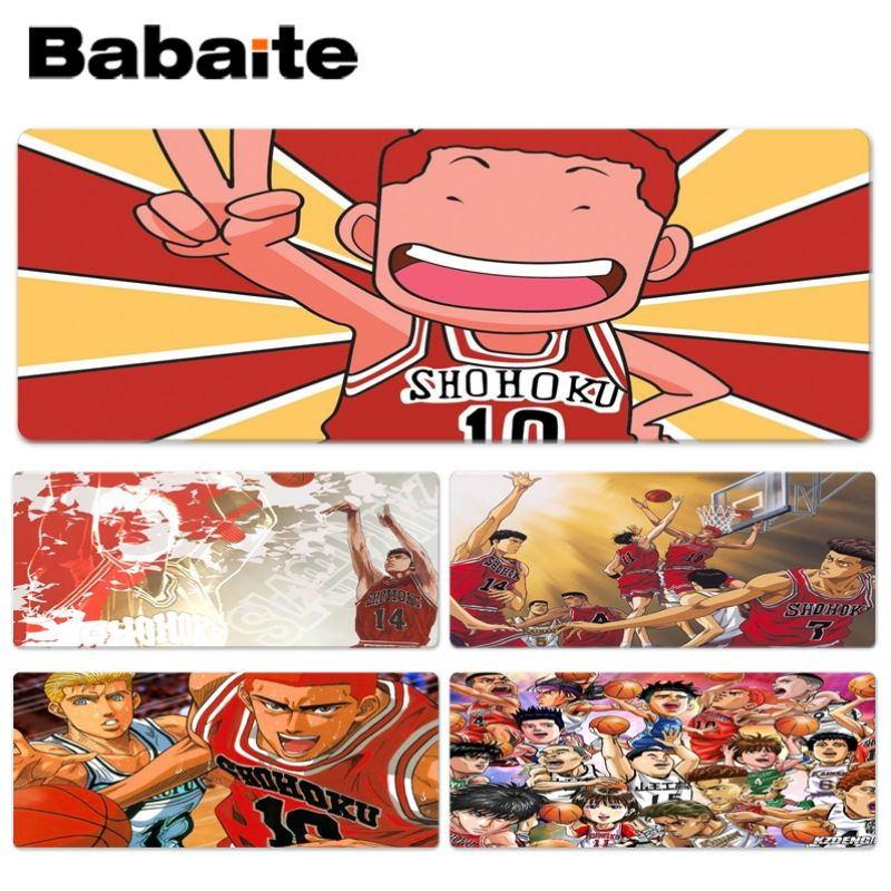 Babaite Cool New Anime Slam Dunk Keyboard Gaming MousePads