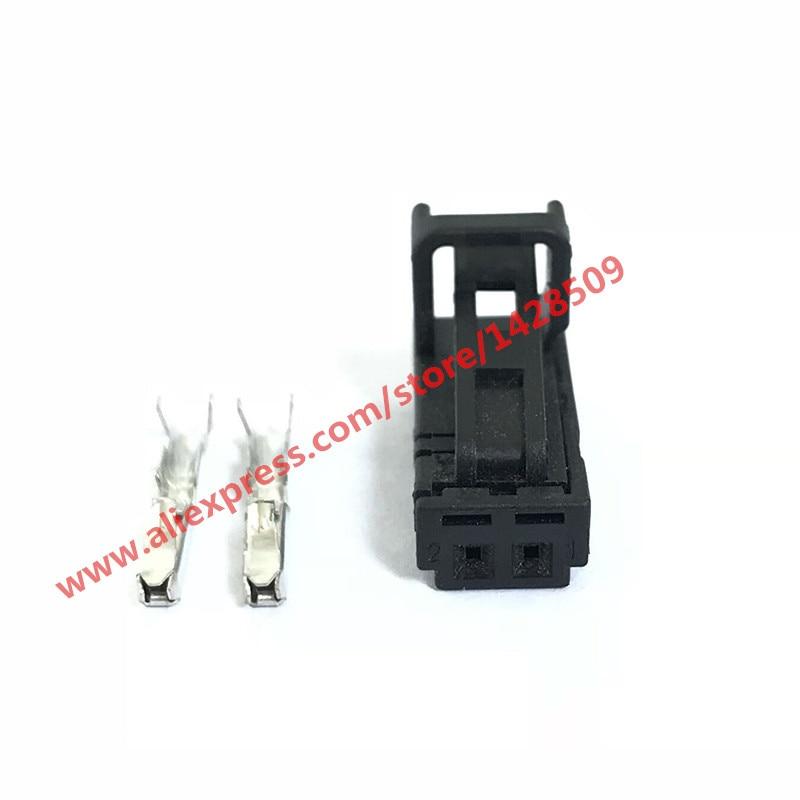 5 Sets 2 Pin 4B0971832 Interior LED Light Socket Door Lamp Connector For Audi VW Skoda VAG 4B0 971 832 4E0 972 575