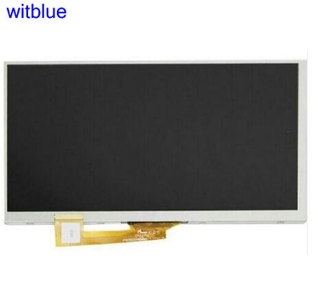 Witblue New LCD Display Matrix For 7 XYX-CPT7D-30PIN-010 Tablet inner LCD screen panel Module Replacement Free Shipping