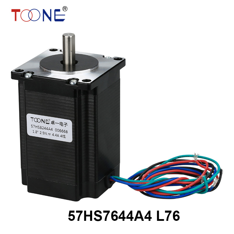 57 series motor drive two-phase stepper motor for single-axis output engraving machine 3D printing motor 57HS7644A4 L76 5786 stepper motor drive stepper drives b804 series of original