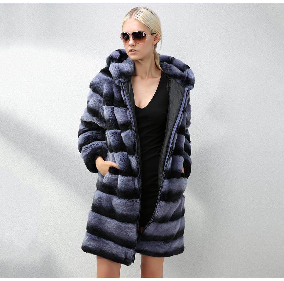 jepluda женские шуба из кролика рекс меховые куртки женские зимние утепленная синтепоном меховой пальто женское с капюшоном шубы из натурального меха кролик