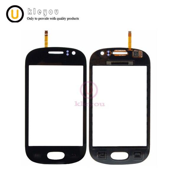 Màu xanh/Trắng Miễn Phí vận chuyển Đối Với Samsung Galaxy GT 6810 S6810 Màn Hình Cảm Ứng Panel Digitizer Sensor Glass Thay Thế