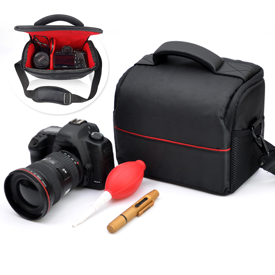Video Camera Lens Sacchetto Della Cassa per Sony A7 A7R II A6300 NEX7 A6500 Nikon D5300 D3300 D5500 D5200 per Canon 600D 700D SX60 SX50 HS