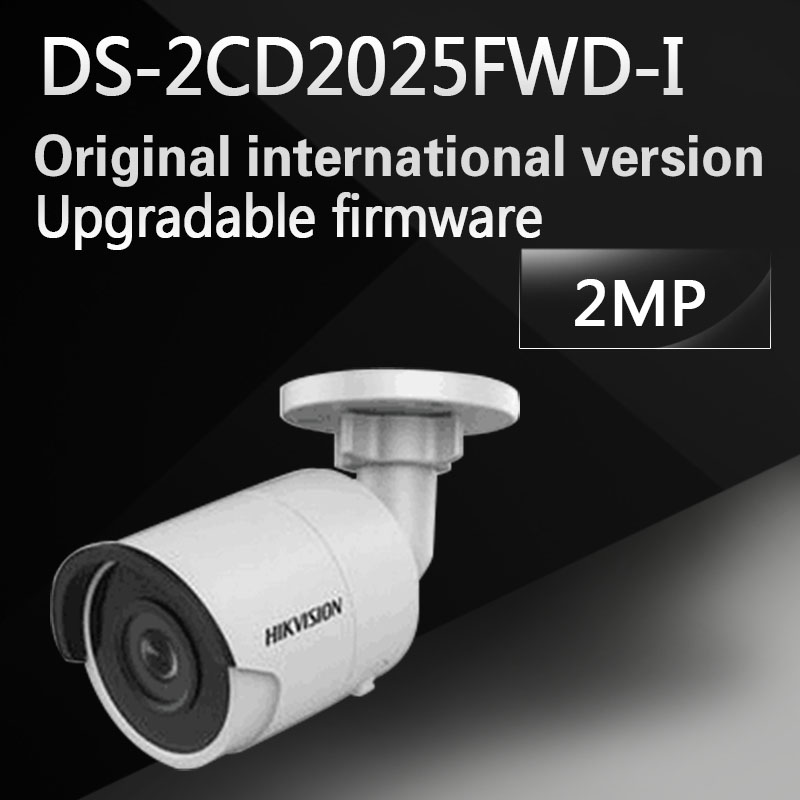 In stock english version DS-2CD2025FWD-I replace DS-2CD2035-I 2MP Ultra-Low Light Network Bullet Camera