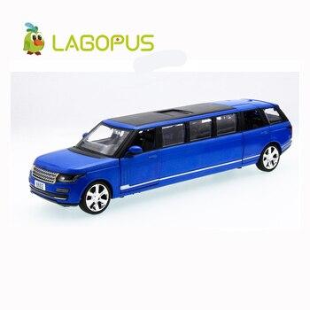 Lagopus haute Simulation 1:32 jouet en alliage allongé modèle tirer arrière son et lumière véhicule jouet cadeau ou Collection pour enfants enfants