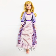 new 28cm genuine princess doll 5 joint curls Sleeping Beauty Doll Girl Gift Princess doll toy Doll