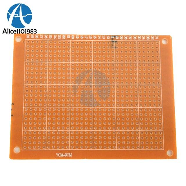 2pcs 7x9 7*9cm single side prototype pcb breadboard universal board