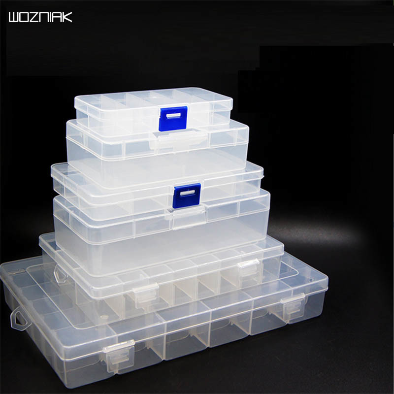 Wozniak Tool Box Container Ring Electronic Parts Screw Beads Component Storage Box Can Be Split