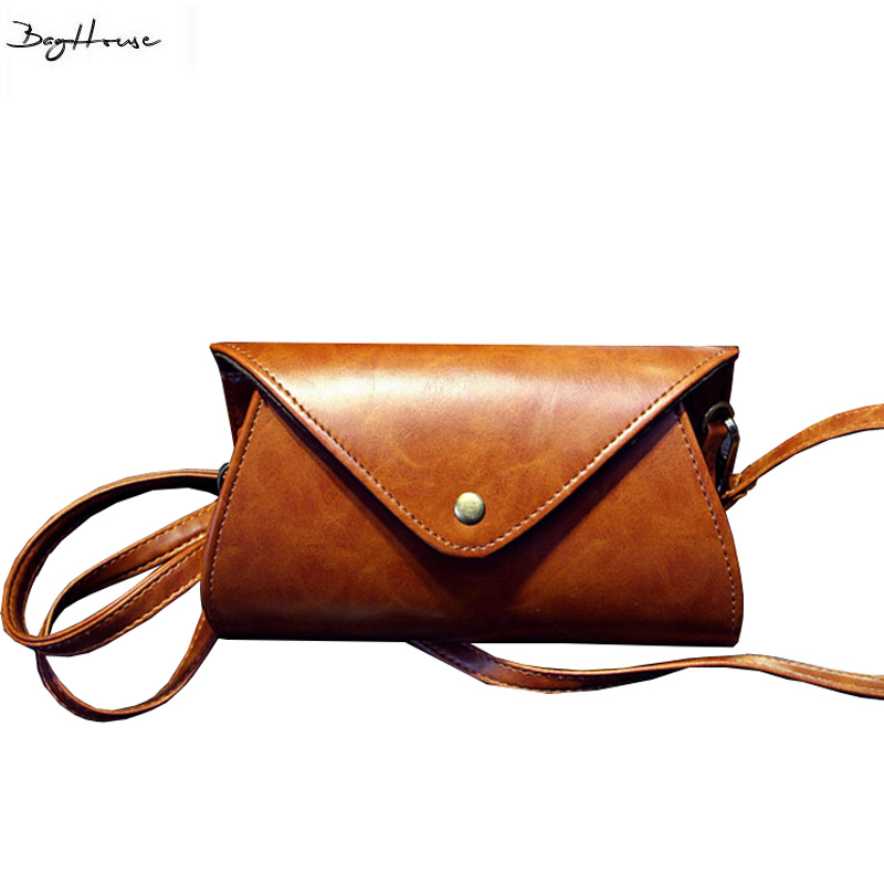Cute girls small bucket shoulder bags Vintage Leather messenger bag famous brand crossbody bags for women