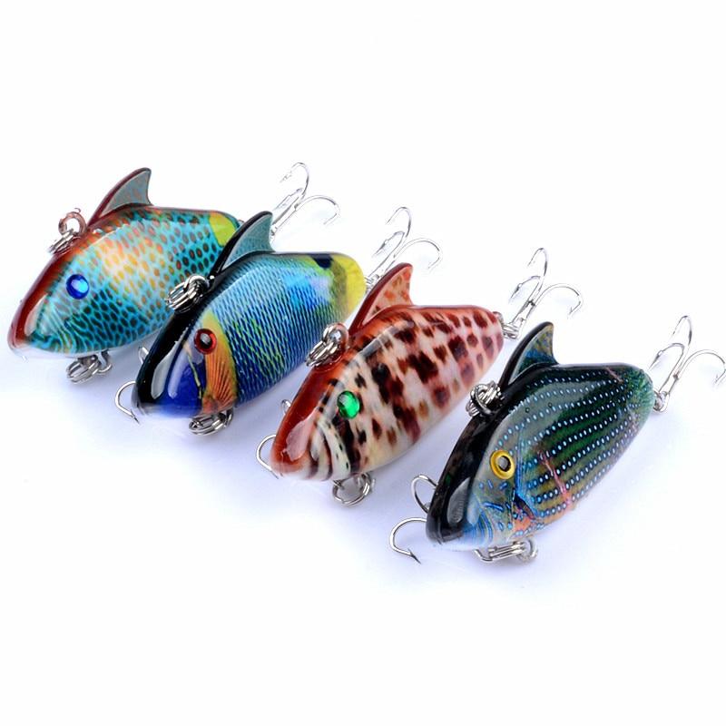 Vibráció VIB Lure Fishing Bait Mesterséges mesterséges csíkok - Halászat
