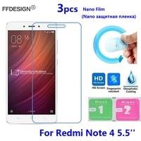 Xiomi Redmi Note 4 Pellicola Protettiva Per Xiaomi Redmi Nota 4 (non di Vetro Temperato) Protezione dello schermo di Protezione Nano Pellicola Pellicola Saver