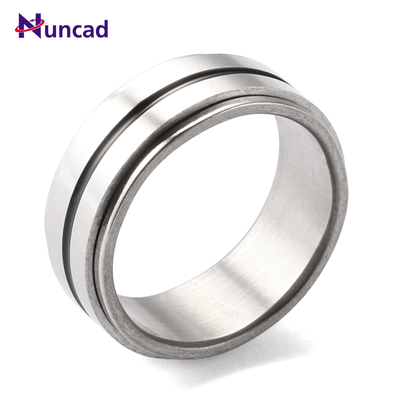 2017 Minimalism Silvery Power Rings Stainless Steel Bridal Sets Anillos De Acero Inoxidable Para Rings For Men Fashion Jewelry