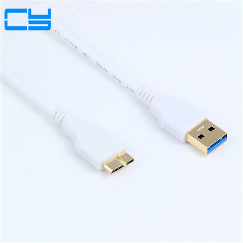 Micro B USB 3.0 Cable For WD Passport Ultra Meta Elements Seagate Backup Plus Expansion Samsung M3 Portable Toshiba SONY ADATA