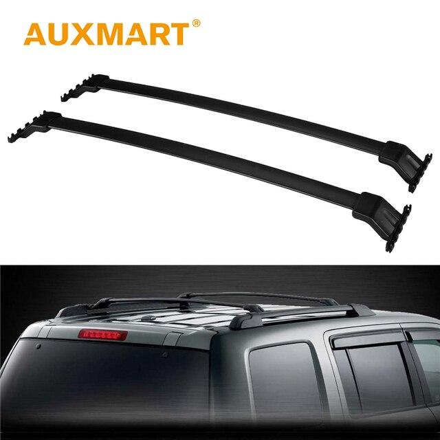 Auxmart Roof Rack Cross Bar For Honda Pilot 2009~2015 Car Rooftop Rails  Boxes Load