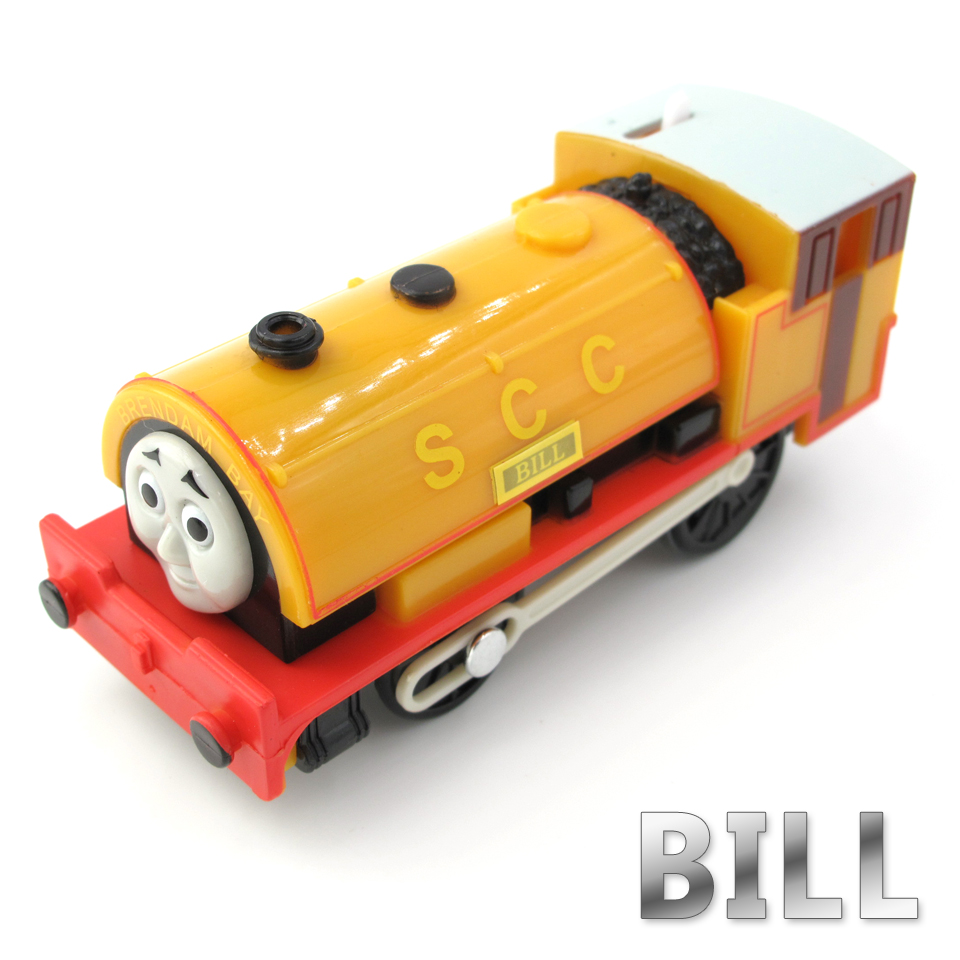 Electric Thomas Train T014E BILL Thomas And Friends Trackmaster Magnetic Tomas Truck Car Locomotive Engine Railway Toys for Boys