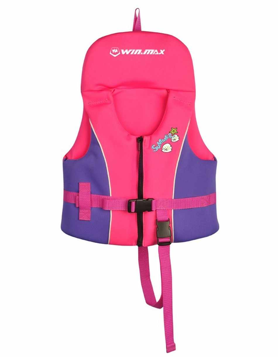 Bebé niño flotador natación ayuda vida chaqueta natación playa chaleco 1-12 años neopreno con forma de flotación, de la vida
