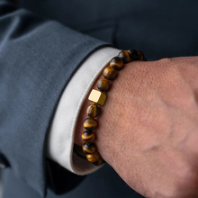 Men Bracelet Essential Charm Jewelry Fashion Luxury Golden &