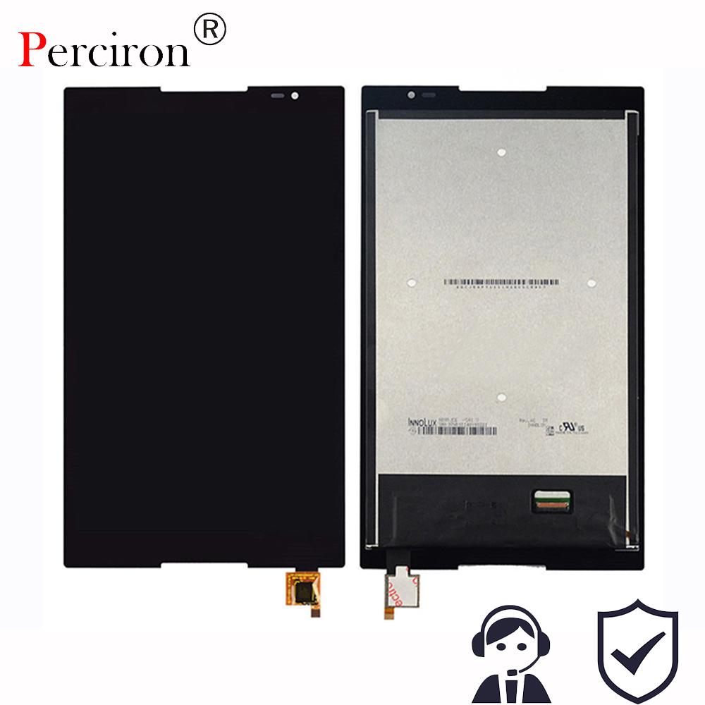 цена на New 8'' inch For Lenovo Tab S8-50 S8-50F S8-50L S8-50LC LCD Display + Touch Screen Digitizer Glass Lens assembly Free shipping