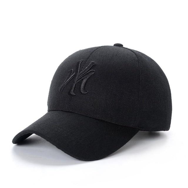 Hats/Caps 2019 MY Embroidery Baseball Cap Men Women Adjustable Solid Cotton Dad Hat Black Streetwear Hip Hop Trucker Hat Gorras