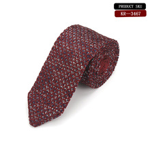 b80b60fbe169 New Fashion Male Brown Knit Tie Skinny Designer Mens Knitted Narrow  Neckties for Men Best Gift