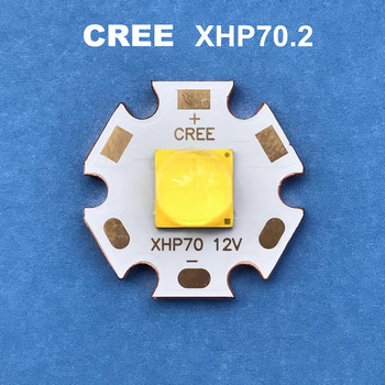 CREE LED xhp70.2 12V6V 30W cree diode flashlight 4292LM strong light lamp motorcycle light bike head lamp led bulbs