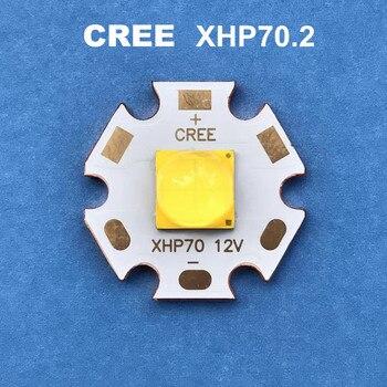 CREE LED xhp70.2 12V6V 30W cree diyot el feneri 4292LM güçlü işık lambası motosiklet lambası bisiklet kafa lambası led ampuller