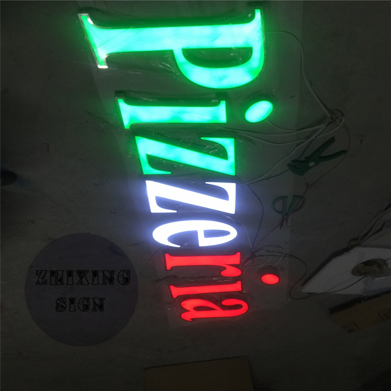 Factoy Outlet Custom High Brightness Outdoor Acrylic Letras Luminosas De Led