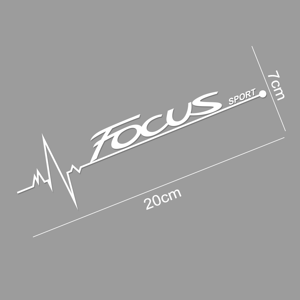 Image 5 - 2PCS Car Stickers Side Window Decal For Ford Focus 2 3 1 MK2 MK3 MK1 Captivating Window Decoration Sport Decals Auto Accessories-in Car Stickers from Automobiles & Motorcycles